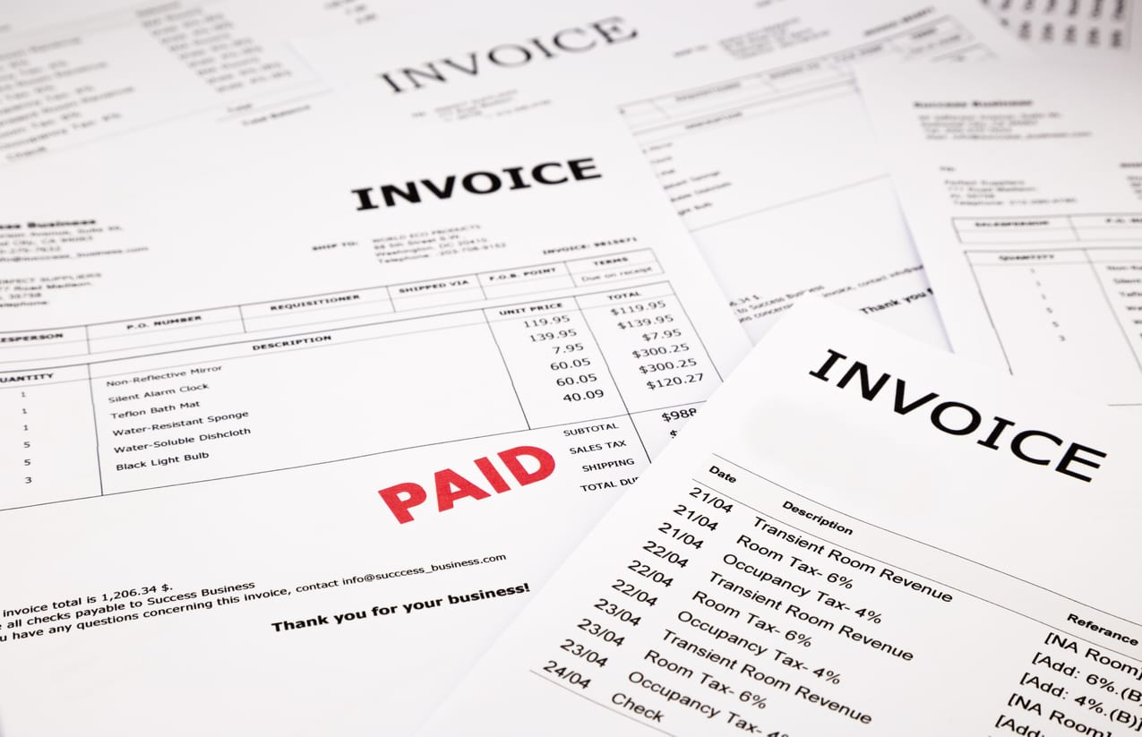 unpaid invoice debt recovery keighley